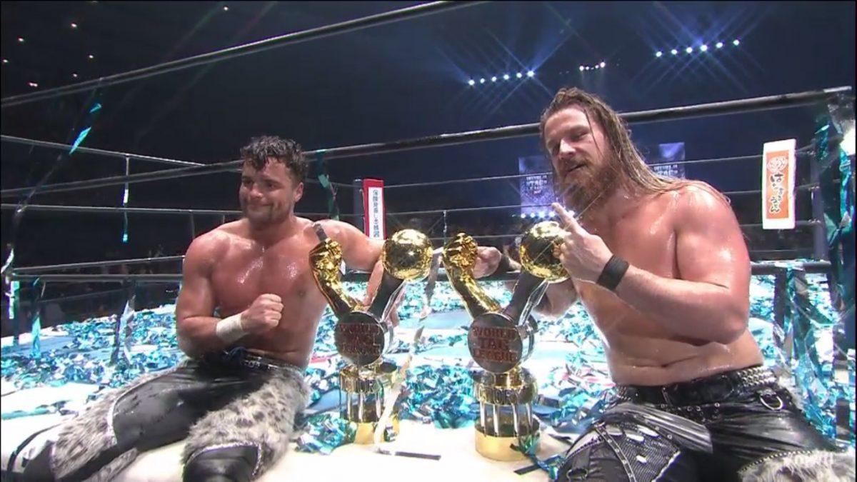 FinJuice conquistam o IMPACT World Tag Team Championship