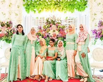 Baju Kebaya Modern Muslimah Untuk Pesta