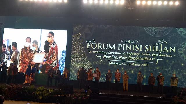 Sinjai Terima Penghargaan Terbaik III Pinisi Sultan Award 2021