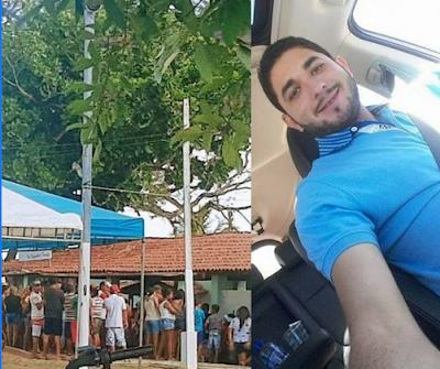 Em Pão de Açúcar, funcionário da Prefeitura de Pão de Açúcar é assassinado a tiros em restaurante