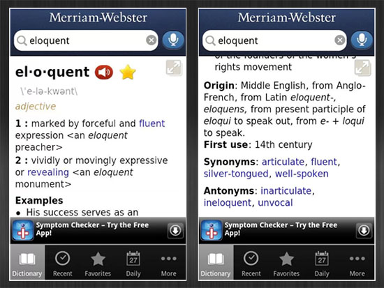 Merriam webster dictionary free dictionary every student should have