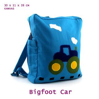 tas ransel unik, tas ransel anak, tas sekolah, tas kanvas lucu