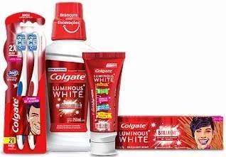Nova Promoção Colgate Luminous White Participe Ganhe Prêmios