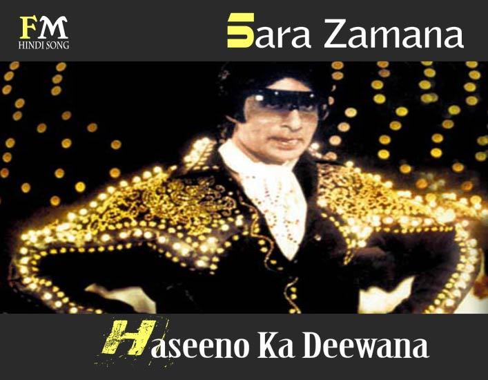Sara-ZamanaHaseenoKa-Deewana-Yaarana -(1981)