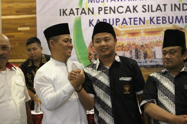 Wabup Terpilih Sebagai Ketua IPSI Kebumen 2019-2023