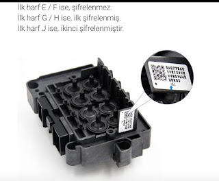 Epson DX7 baskı kafalı makinenizde Kodlu mu Kodsuz mu Kafa kullanıyorsunuz ?