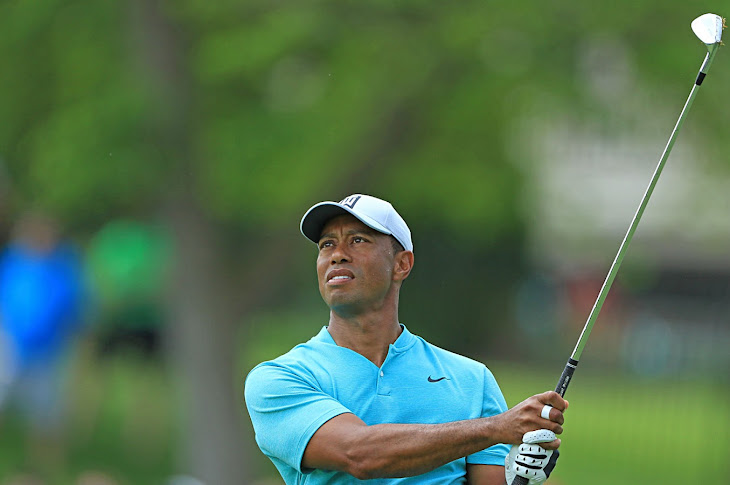 Tiger Woods Involved In A Car Accident