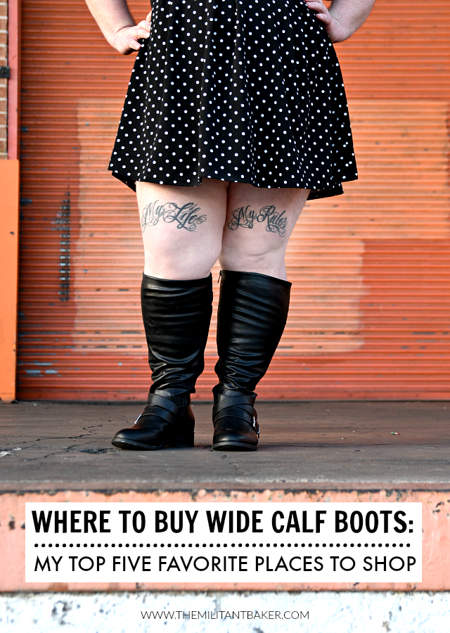 Where to buy the best wide calf boots