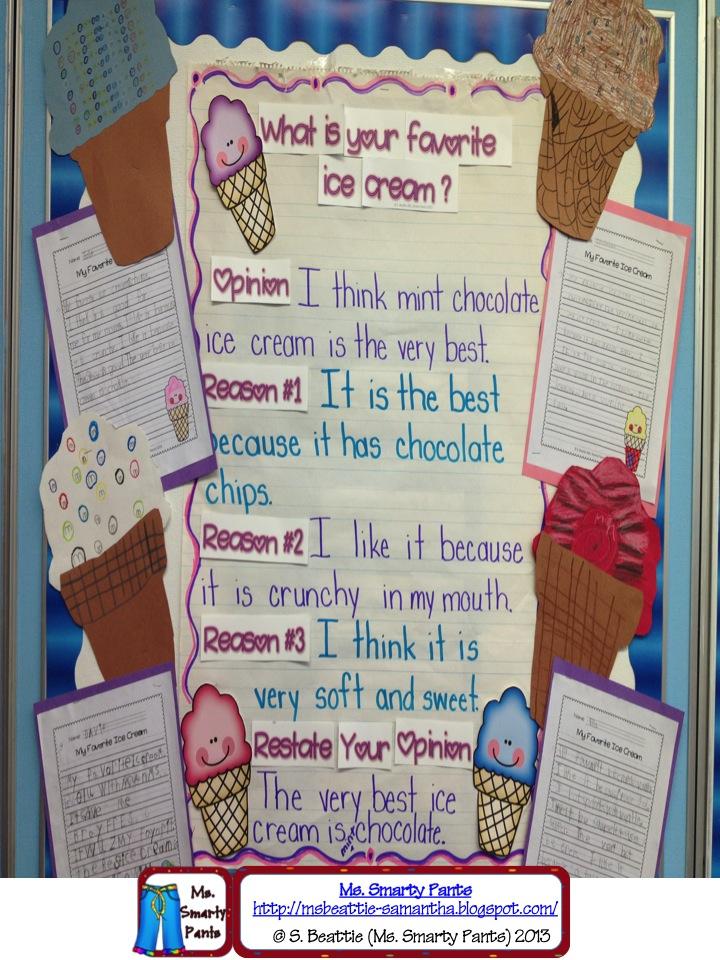 10 sentences on ice cream