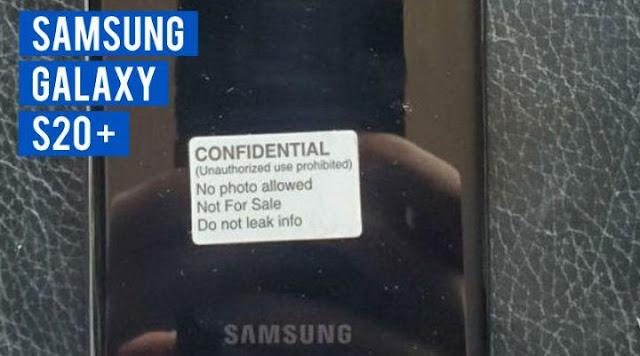 Desain Samsung Galaxy S20 Plus Bocor! Berikut Foto - fotonya