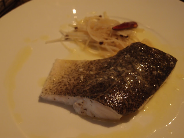 Steamed Murray Cod