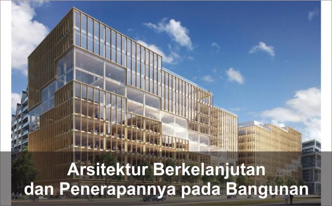 penjelasan arsitektur berkelanjutan