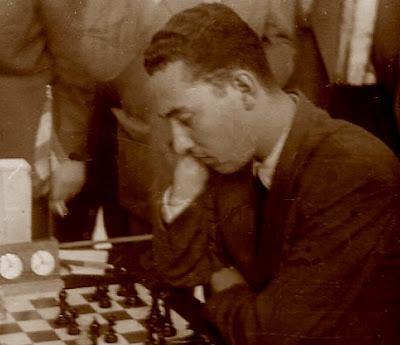 El ajedrecista Francisco Ballbé Anglada en 1960