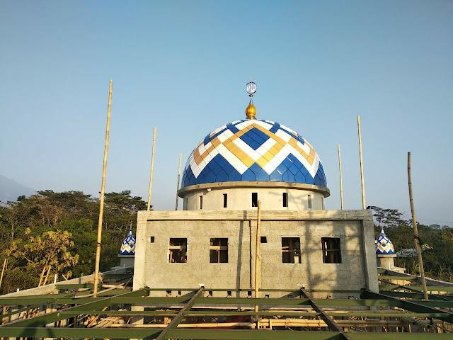 Pembuat Kubah Masjid di Lampung