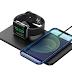 Carregador Wireless 2 em 1 iPhone+AirPods Pro Watch