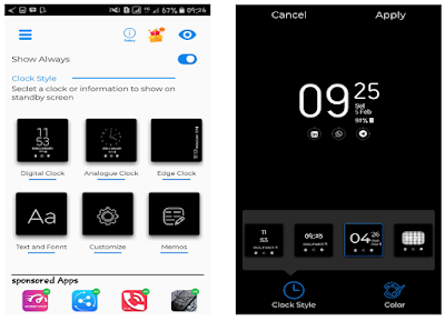 merupakan sebuah fitur yang tersedia pada smartphone √  Cara Membuat Tampilan Layar Menjadi Always On Display di Semua Android