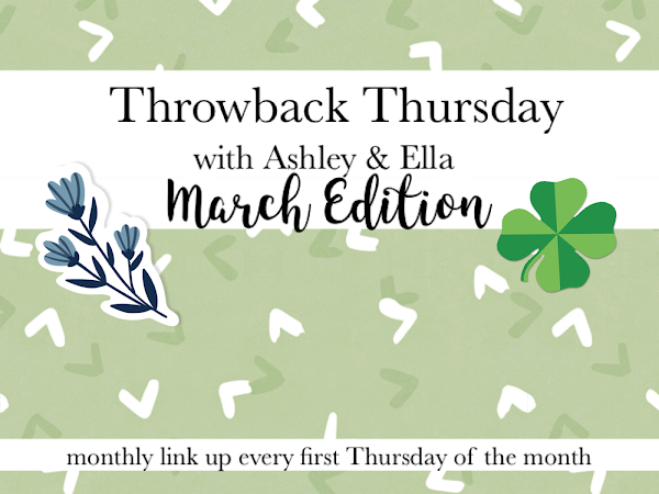 Throwback Thursday-March Edition
