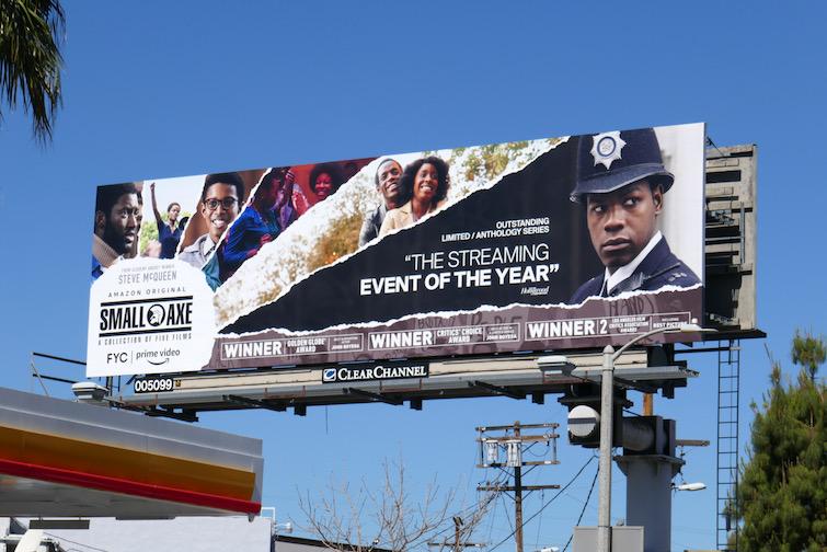 Small Axe Emmy 2021 FYC billboard