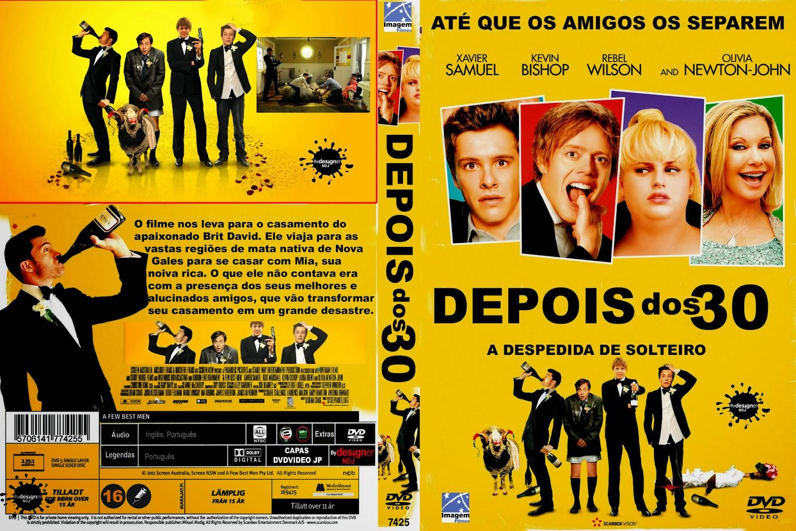 CAPAS DVD VIDEO JP: DEPOIS DOS 30