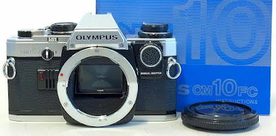Olympus OM10 (Chrome) Body #038