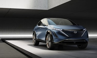 NISSAN Ariya Concept introduced
