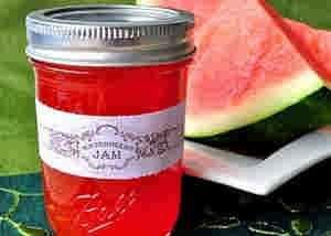 مربى البطيخ