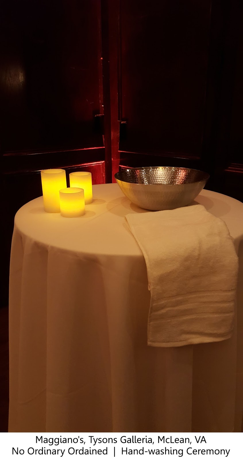 Adrian + Devon: Maggiano\'s Little Italy, Hand Cleansing Unity ...
