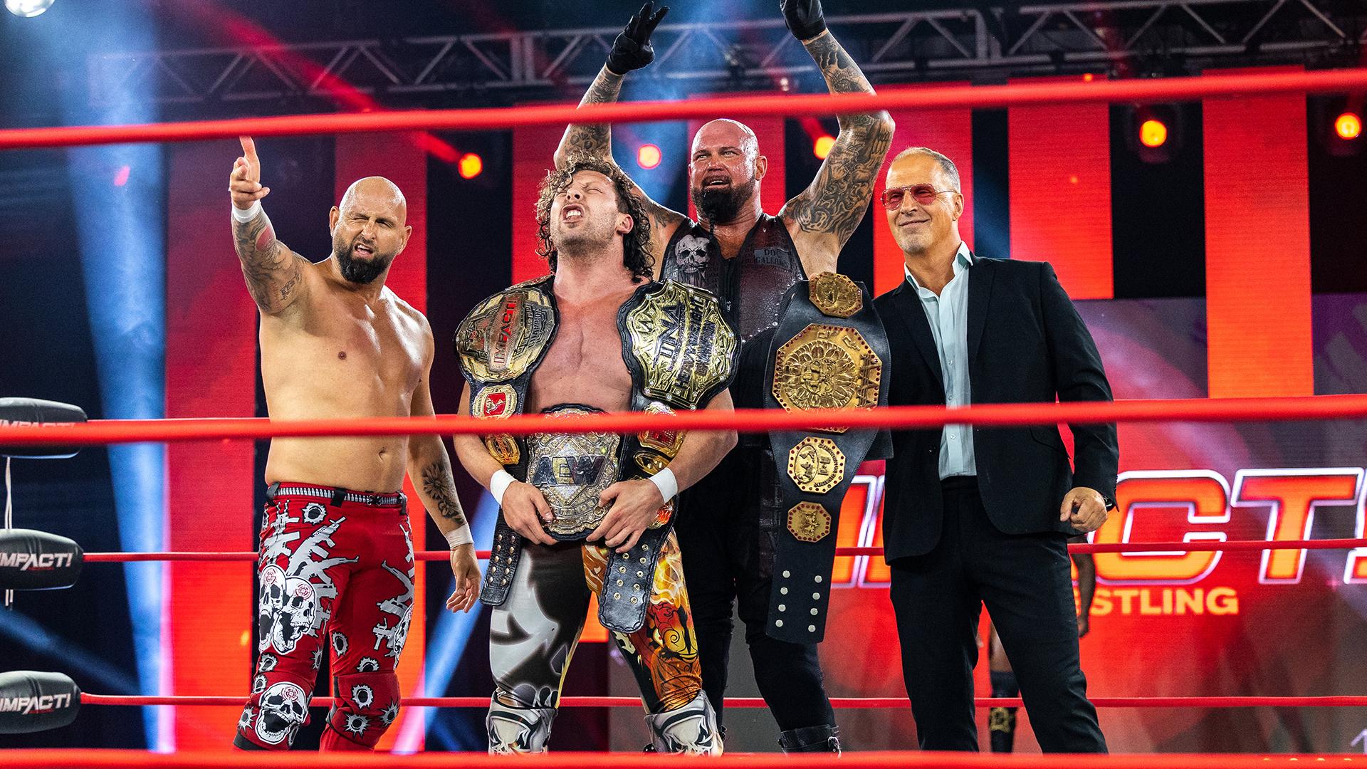 IMPACT Wrestling tem pior audiência de sua história
