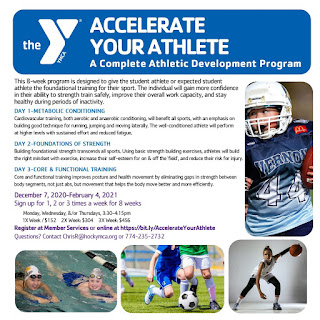 New youth athletic training program at the YMCA