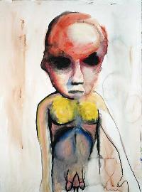 Dysmorphophila, pintura de Marilyn Manson.
