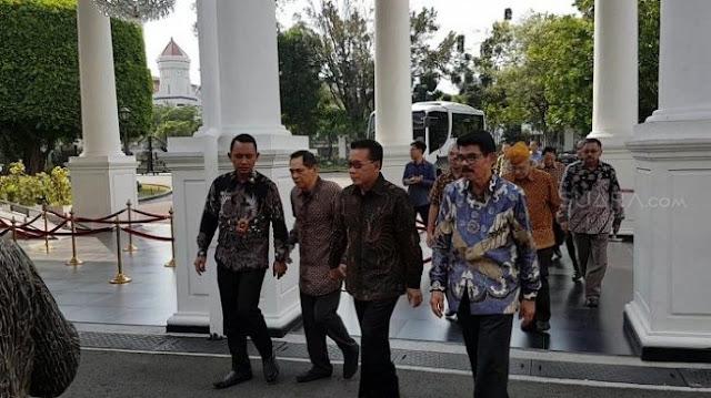 Moeldoko Ungkap Tujuan Pertemuan Jokowi dengan 7 Jenderal Purnawirawan TNI