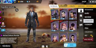 Character Baru Rafael Update Free Fire 26 Juni 2019