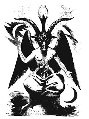 Representación de Baphomet, según Eliphas Levi