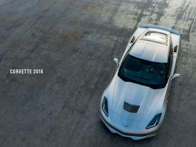 Downloadable 2016 Chevrolet Corvette Brochure