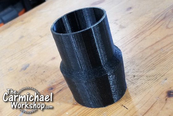 Shop Vac Hose Adapter by The Carmichael Workshop