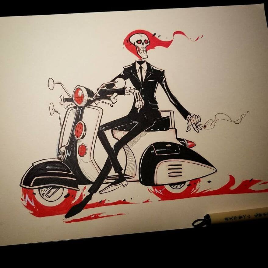 13-Ghost-Rider-Jeremiah-Hause-www-designstack-co