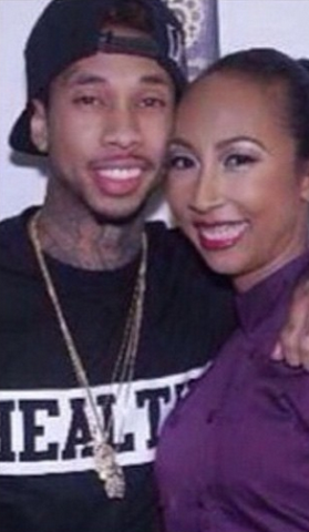 Photos: Tyga shares before and after photo of himself and his mum