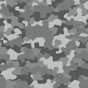 迷彩柄のパターン(白黒)