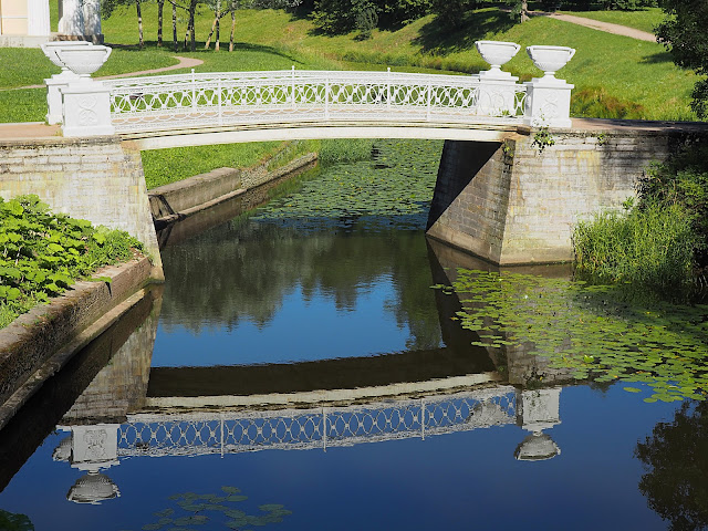 Павловск - мост в парке (Pavlovsk - a bridge in the park)