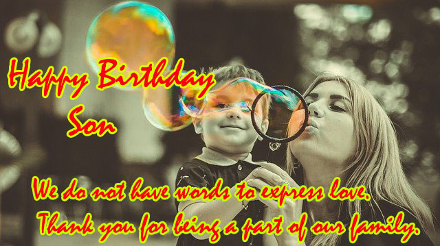 birthday images for son from mother