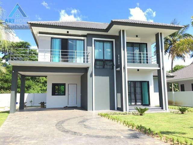 แบบบ้านสองชั้นราคา 1.9 ล้านบาท