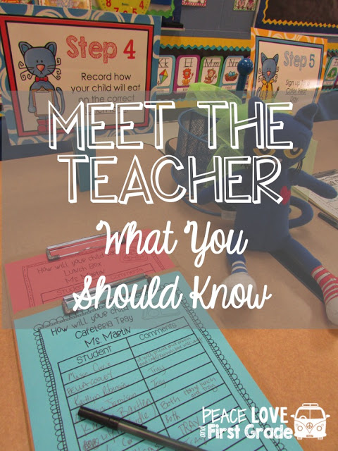Back to School Ideas for a Successful Meet the Teacher include templates and downloads.