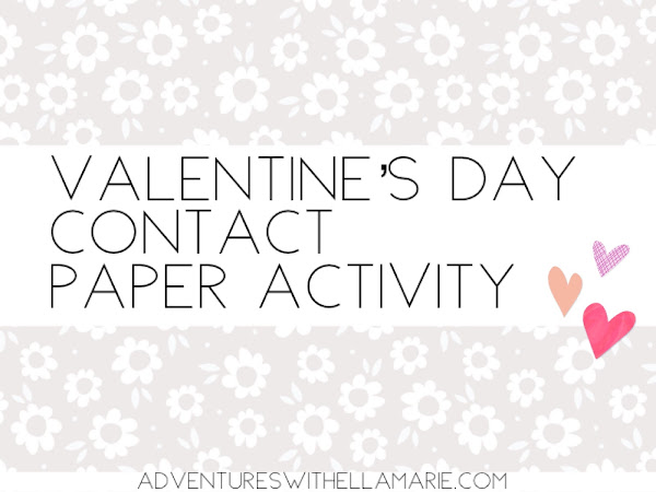 Getting Crafty- Contact Paper