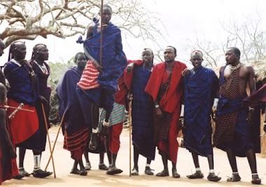 Master African Dancers
