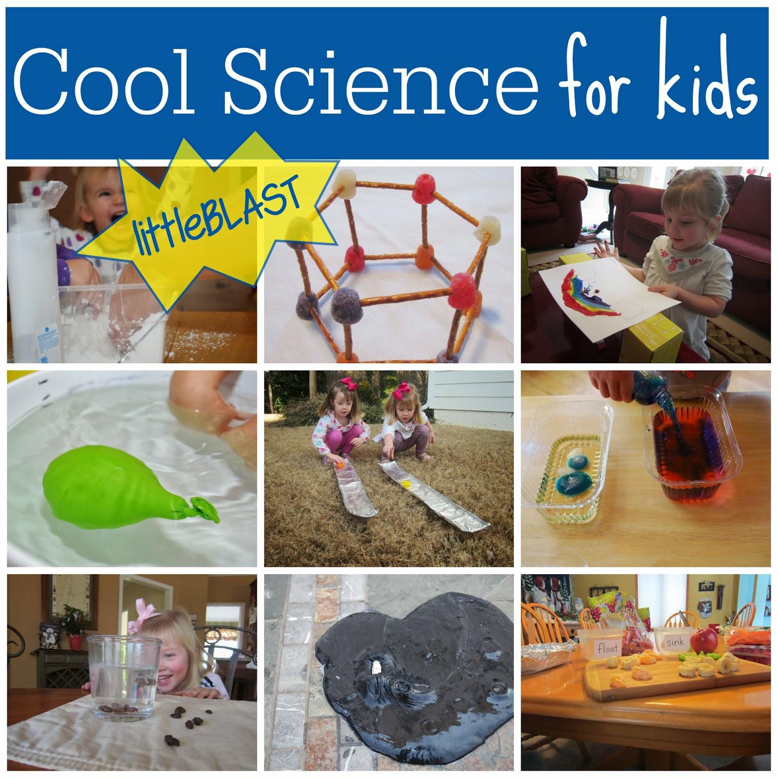 science cool blast kit giveaway toddler slime magnetic