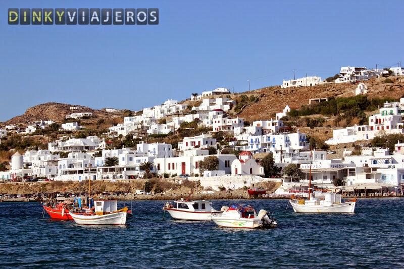 Mykonos. Puerto