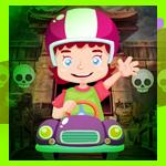 Games4King - G4K Car Riding Girl Escape