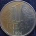 Raridade: Quem lembra dessa moeda de 1 real!