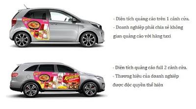 Dán quảng cáo trên Ô Tô, Xe hơi