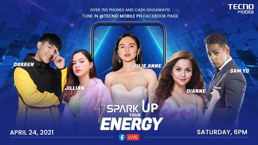 TECNO Mobile to hold Spark Up Your Energy Talent Show featuring latest smartphones and big prizes